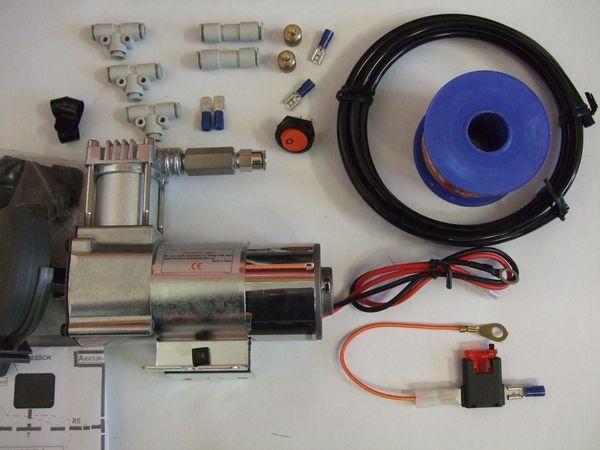 ( LF1A) Hochleistungskompressor Premium für Luftfederanlagen, 1/4 Zoll, 6,35 mm, 130/5