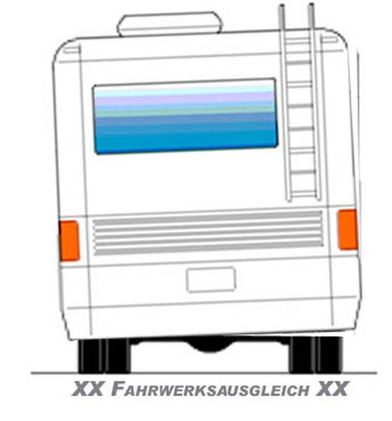 ( LF2) Aufrüstung zur getrennten Befüllung, f. Schlauch schwarz 4,00 mm