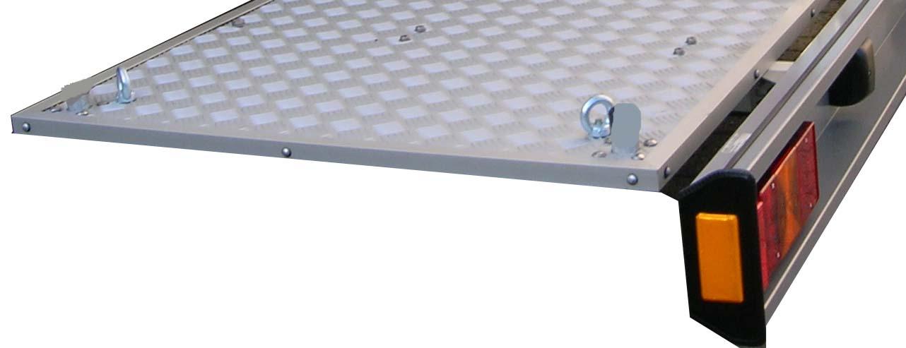 ALUTRANS MAXX Rüstsatz auf Plattformträger