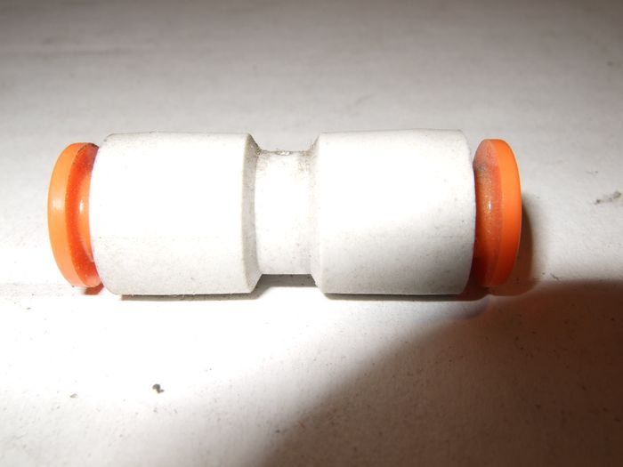 ( LF1A) Stossverbinder, gerade, 1/4 Zoll, 6,35 mm