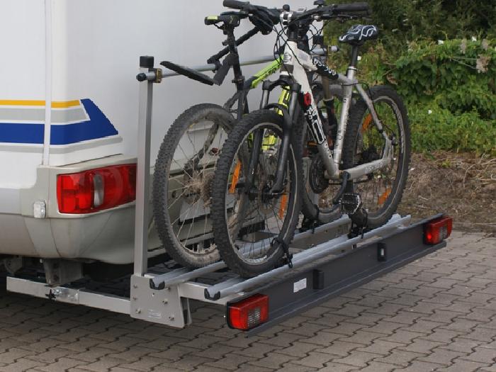 ALUTRANS ECO Premium Wohnmobil Fahrradträger für 2 Fahrräder o. E-Bike