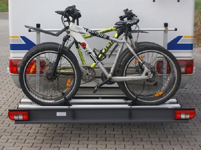 ALUTRANS Premium Wohnmobil Fahrradträger für 2 Fahrräder o. E-Bike