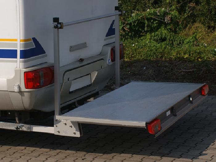 ALUTRANS Premium Plattformträger XL spez. für Fiat Ducato X250/X290 Bj. 2011-, mit AHK