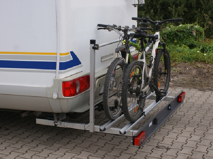 ALUTRANS MAXX Wohnmobil Fahrradträger für 2 Fahrräder o. E-Bike