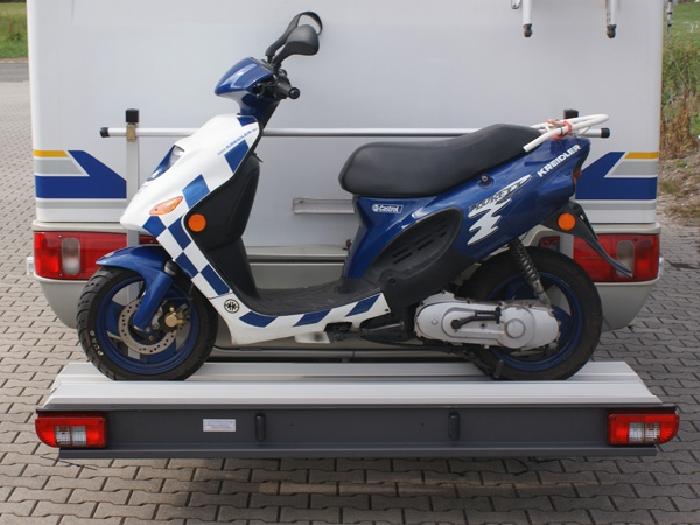 ALUTRANS Premium 1 Roller/ Motorradträger, 200kg spez. für Peugeot Boxer X250/X290 Bj. 2011-, mit AHK