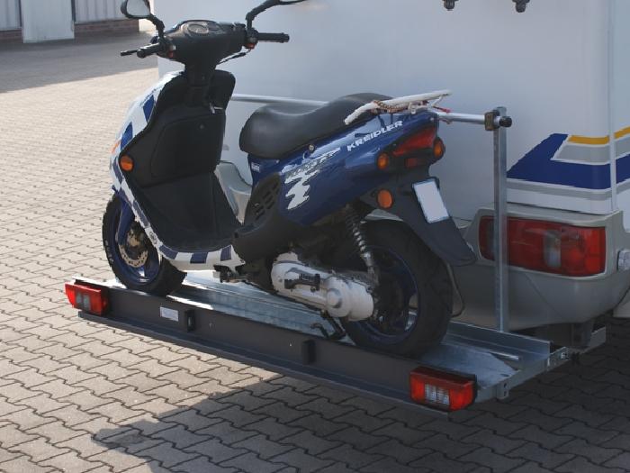 ALUTRANS prestige 1 Roller/ Motorradträger, 150kg spez. für Fiat Ducato X250/X290 Bj. 2011-, ohne AHK