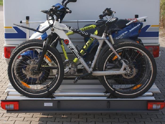 alutrans premium 1 motorrad roller plus 2 fahrr e bike. Black Bedroom Furniture Sets. Home Design Ideas