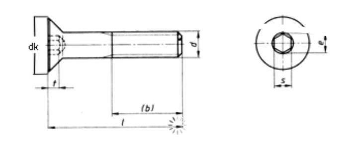 Wechselsytem Variobloc Befestigungssatz,Senkkopf M10x110