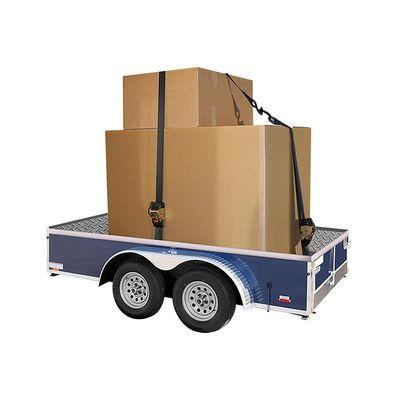 Spanngurt mit Ratsche und Aufrollautomatik, 3m lang, 50mm breit, mit 2 Haken, 750kg (12er Pack)