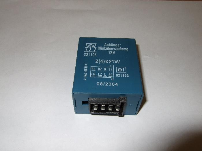Blinküberwachung Modul Erich Jaeger 8pol- blau