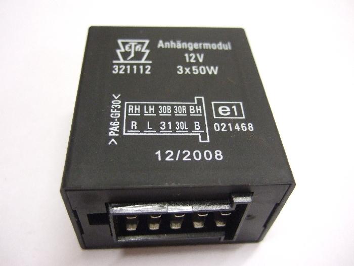 Modul Steuergerät JAEGER Anhängermodul 12V 3x50W 321112