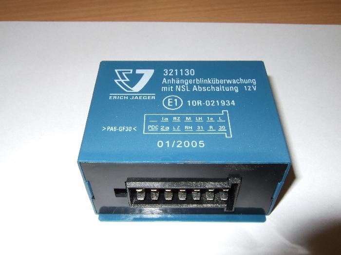 Modul Steuergerät JAEGER 321130 + NSL Abschaltung 12V.