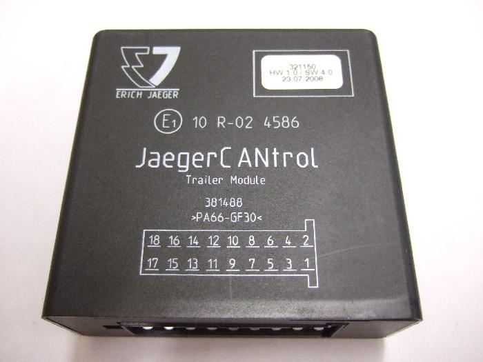 Modul Steuergerät JAEGER JAEGERCantrol Trailer Module 321150