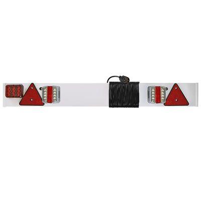 Beleuchtungsleiste, LED mit Trägerplatte, mit Nebelschlußleuchte, 1220mm, 6m