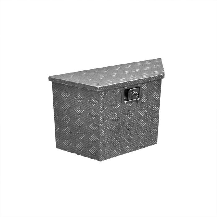 Heckbox, Alubox Staukasten, Werkzeugbox 700/380 x 240 x H420mm