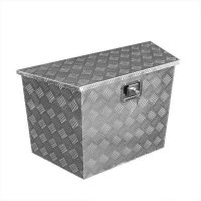 Heckbox, Alubox Staukasten, Werkzeugbox 830/540 x 360 x H490mm