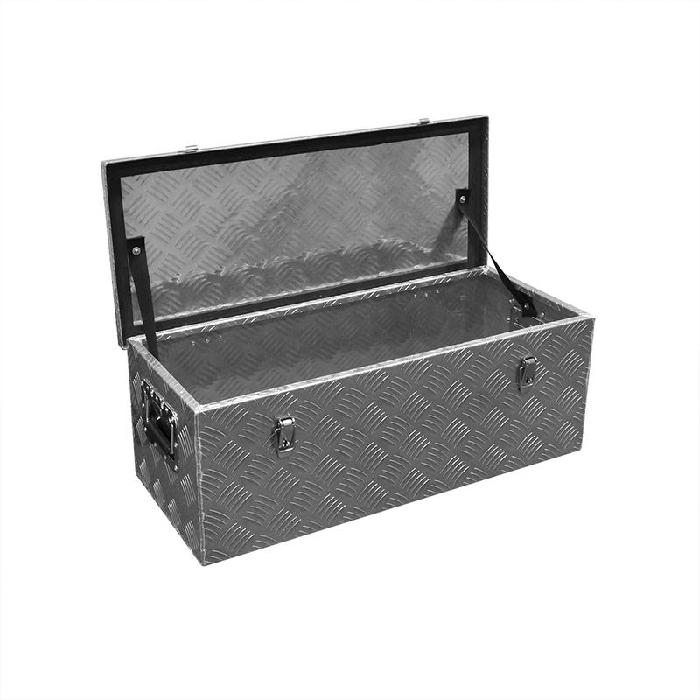 Heckbox, Alubox Staukasten, Werkzeugbox 760 x 320 x H270mm