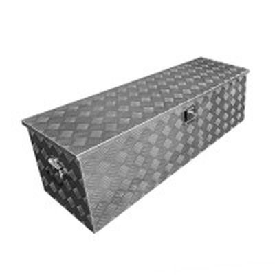 Heckbox, Alubox Staukasten, Werkzeugbox 1240 x 400 x H380mm
