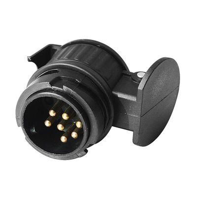 Adapter, Kurz, 13-polige Steckdose / Anhänger m. 7-poliger Stecker