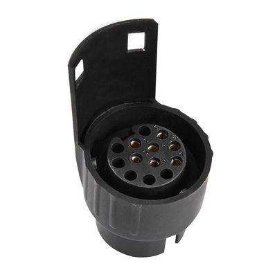 Adapter, Kurz, 7-polige Steckdose / Anhänger m. 13-poliger Stecker (100er Pack)