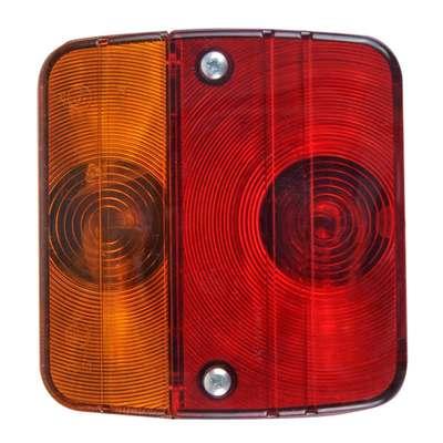 Rückleuchte 4 Funktionen 98x104mm inkl. Glühlampe (108er Pack)