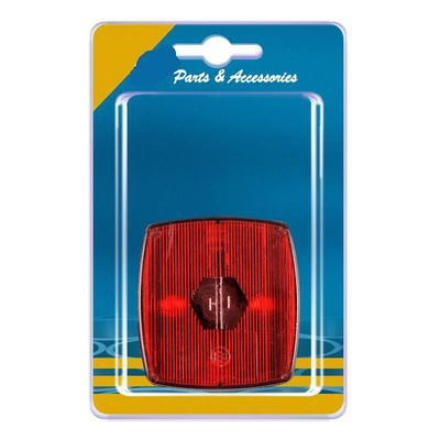 Positionsleuchte rot 66x62mm