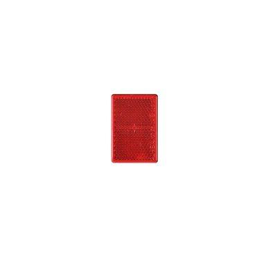 Rückstrahler rot 90x35mm selbstklebend (500er Pack)