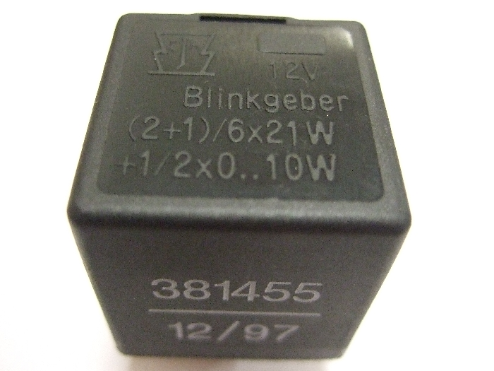 Modul Steuergerät JAEGER Blinkgeber 12V (2+1)-6x21W +1-2x0..10W 381455