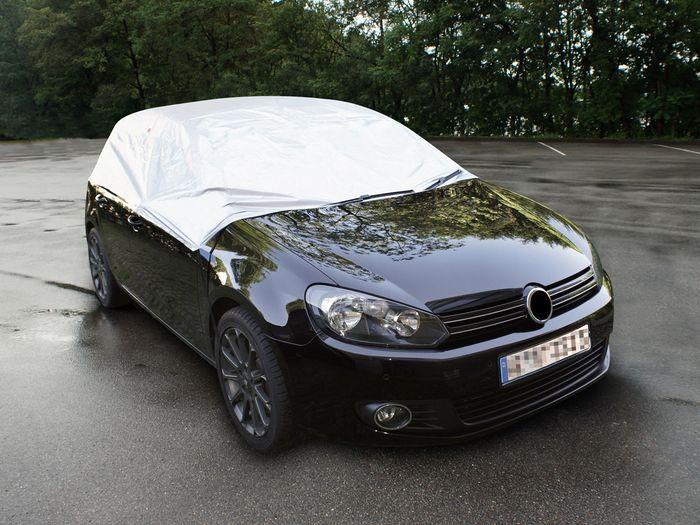 VW Golf (VI) 2-T Cabrio Bj. 2008-2012 Auto Schutzhülle-Halbgarage, Basic