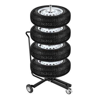 Felgenständer fahrbar mit Handgriff für 4 Reifen (48er Pack)