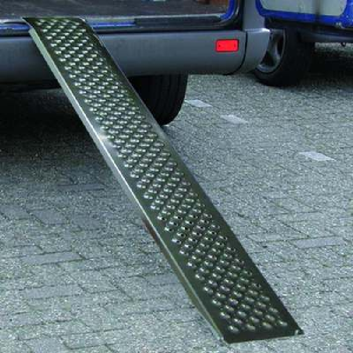 Auffahrrampe, Auffahrschiene Aluminium 200x21cm 200kg pro Stück