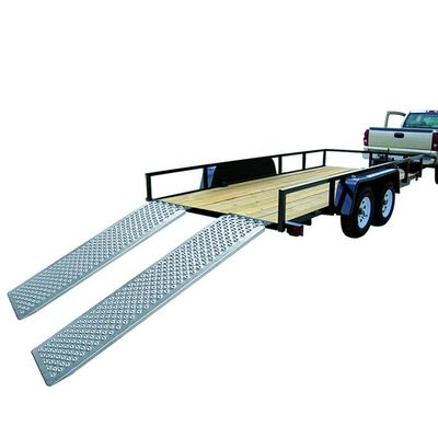 Auffahrrampe, Auffahrschiene Aluminium 183x25cm 500kg pro Stück (Pack 40 Stk.)