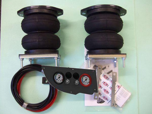 Fiat Ducato Eurochassis X250, intern X290 (2014-), Zusatz-Luftfederung 6 Zoll Heavy Zweikreis Faltenbalg- Anlage, syst. LF1