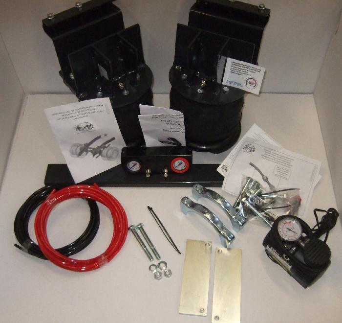 Mercedes Sprinter Bj. 2006-2018, Modelle 209-324 Zusatz-Luftfederung 6 Zoll Heavy Doppelfaltenbalg- Anlage, syst. LF1