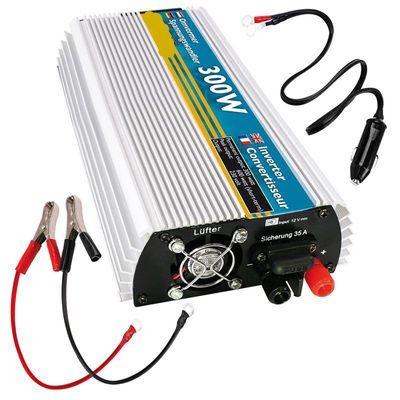 Spannungswandler, Wechselrichter 12V-230V 300W/600W + USB