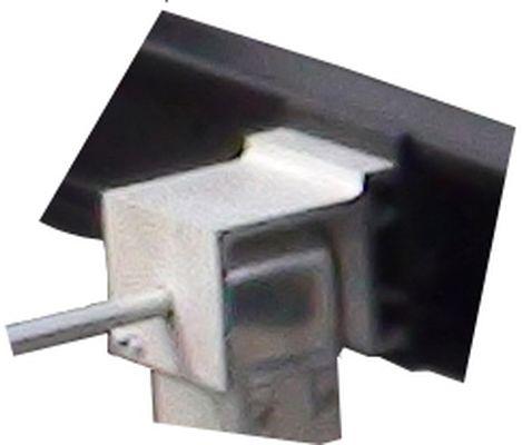 Zubehör: Stützenhalter vorn- Fiat X250 f.MOCA Stützen