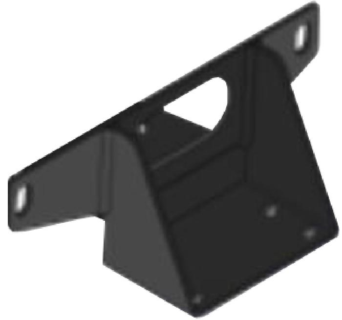 Zubehör: MOCA Stützenhaltersatz zur Montage am Fiat Chassis hinten, nur Wohnmobil, nicht Kastenwagen