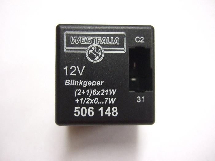 Modul Steuergerät Westfalia Blinkgeber 12V (2+1)6x21W + 1-2x0...7W 506148