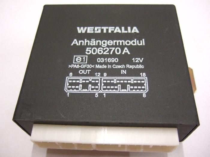 Modul Steuergerät Westfalia Anhängermodul 506270A