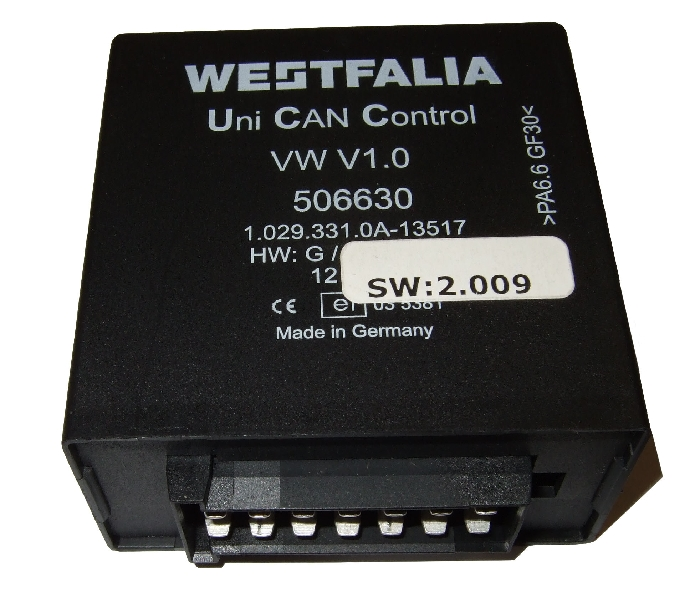 Modul Steuergerät Westfalia Uni Can Control VW V1.0 506630
