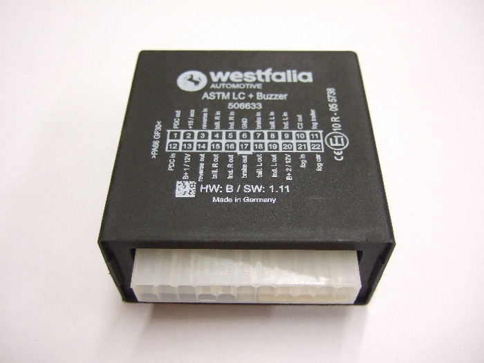 Modul Steuergerät Westfalia ASTM LC + Buzzer 506633