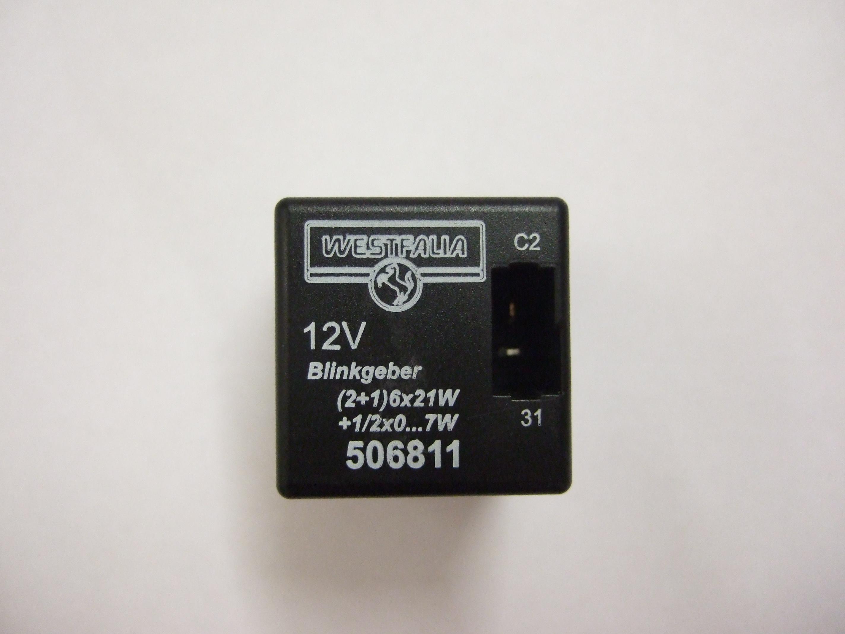 Modul Steuergerät Westfalia 12V (2+1)6x21W+1-2x0…10W 506811.