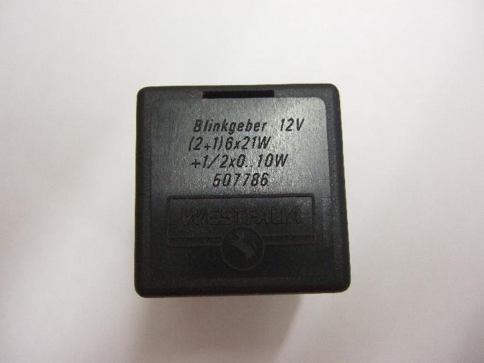 Blinkerrelais / Blinkgeber, 12V, C2-Kontrolle Westfalia - 507786