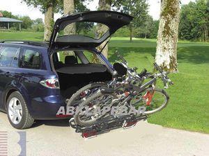 Fahrradträger MFT MULTI CARGO 2 family, f. 2 Fahrräder für d. Anhängerkupplung AHK Fahrradträger für 2 Fahrräder