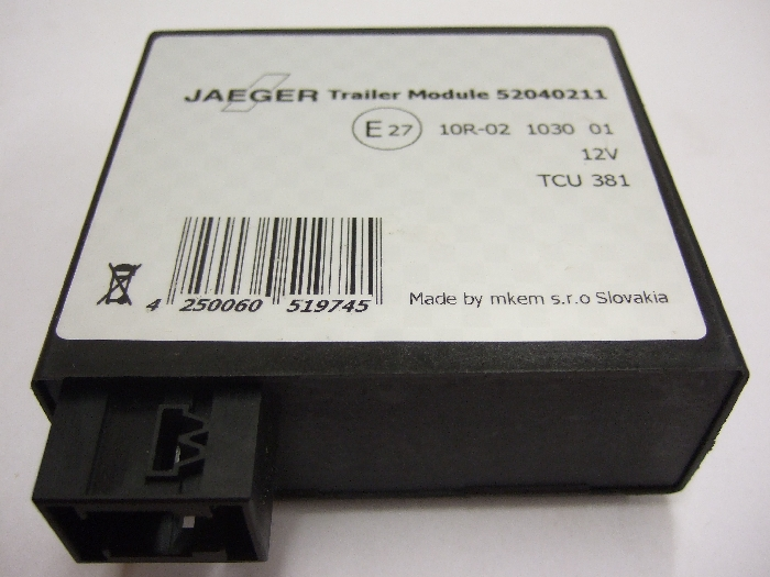 Modul Steuergerät JAEGER Trailer Module 12V TCU 381 52040211