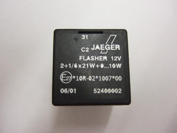 Modul Steuergerät JAEGER Flasher 12V 2+1-6x21W+0…10W 52400002