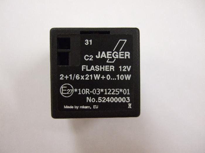 Modul Steuergerät JAEGER Flasher 12V 2+1-6x21W+0…10W 52400003