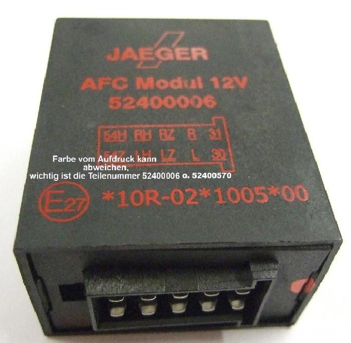 Blinküberwachung AFC- Modul- Umrüstkit- ohne CC- aus anderen T- Tronic Systemen