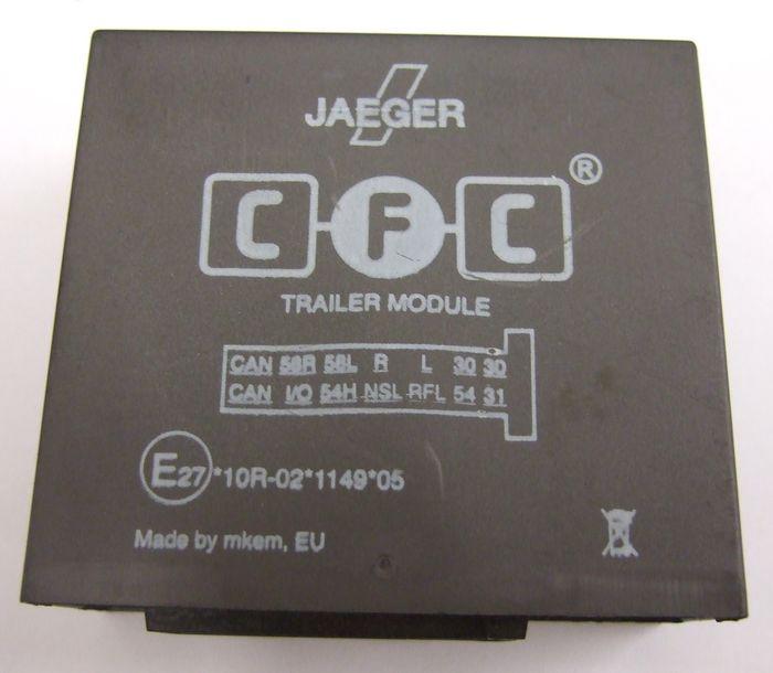 Anhängermodul Steuergerät CFC Jaeger 52507508WC