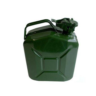 Benzinkanister 5L Metall grün UN-& TüV GS-geprüft (5er Pack)